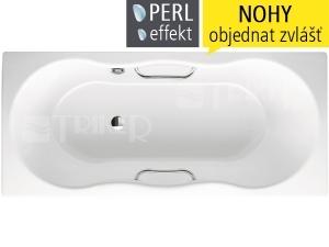 Novola Star vana ocelová 3,5 mm 170 x 75 cm 253, bílá + Perl-Effekt
