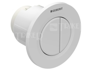 Oddálené ovládání Typ 01 pneumatické podomítkové, alpská bílá