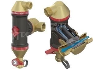 Odlučovač vzduchu a nečistot Flamcovent Clean Smart 1
