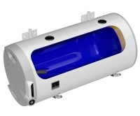 OKCV L ohřívač vody kombinovaný vodorovný OKCV 125/L, 125l, 2,2kW (2016), 1103408112, Dražice