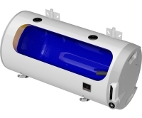 OKCV P ohřívač vody kombinovaný vodorovný OKCV 160/P, 160l, 2,2kW (2016), 1106408111, Dražice