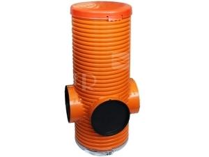 Opti-control drenážní šachta 315 s hrdly 200mm bez lapače písku