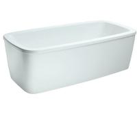 Palomba vana akrylátová samostatně stojící 180 x 90 cm bílá, H2318000000001, Laufen