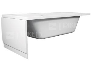 Panel k vaně Teiko boční 70 x 53 cm bílý + montážní sada