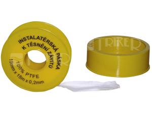 Páska teflonová pro těsnění závitů
