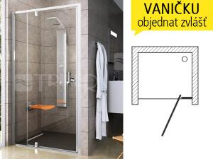 PDOP2 sprchové dveře