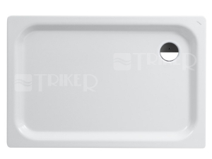 Platina vanička ocelová obdelníková