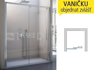 PLS2 Sprchové dveře