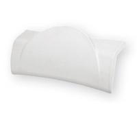 Podhlavník Ravak BeHappy bílý, B612000001, Ravak