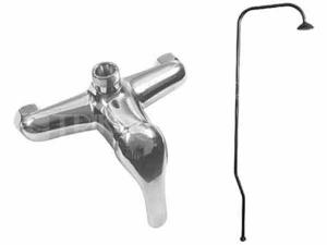 Polar sprchová baterie s hlavovou sprchou, rozteč 150 mm, chrom
