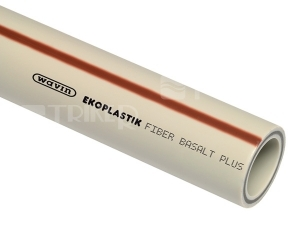 PP-RCT trubka Fiber Basalt Plus