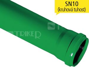 PPKGEM kanalizační trubka SN10 125 x 3,9 x 1000 mm