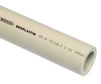 PPR trubka 50 x 4,6 mm S5 (PN10), STR050P10X, Wavin Ekoplastik