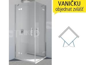 PUE2P Sprchové dveře rohové