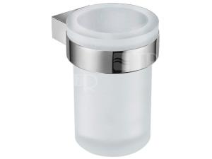 Pure držák se skleněným pohárkem chrom