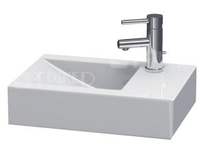 Pure umyvadlo 50 x 34,5 cm s otvorem vpravo bílé