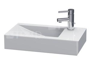 Pure umyvadlo 60 x 34,5 cm s otvorem vpravo bílé
