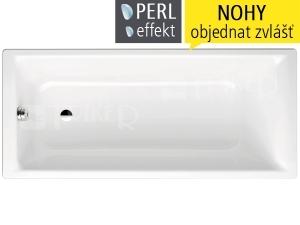 Puro vana ocelová 3,5 mm 170 x 75 cm 652, bílá + Perl-Effekt