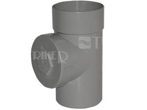 PVC čistící T-kus  50mm