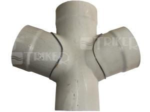 PVC dvojodbočka 67° 110/110/110mm