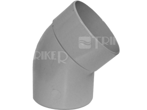 PVC koleno 45°  40mm