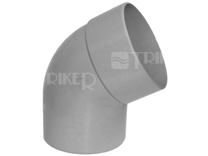 PVC koleno 67°  40mm