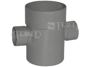 PVC kříž 87° 110/40/40mm