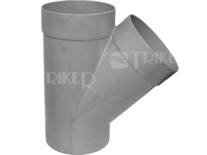 PVC odbočka 67°  40/ 40mm