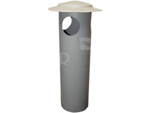 PVC ventilační hlavice  75/400 mm