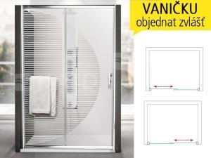 PXD2N DESIGN+ sprchové dveře