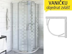 PXR2N DESIGN Plus sprchový kout
