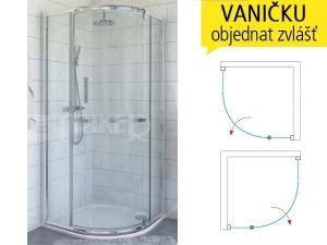 PXRO1 sprchový kout jednokřídlý