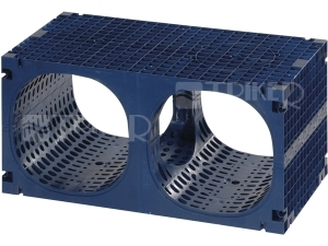 Q-Bic akumulační box čistitelný 1200 x 600 x 600 mm, 432l