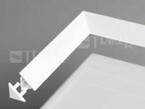 Ravak krycí lišta 10 2000mm, bílá