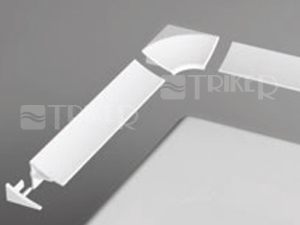 Ravak krycí lišta 11 1100mm, bílá