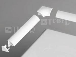 Ravak krycí lišta 6 1100mm, bílá