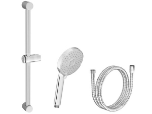 Ravak sprchový set 922.00 Flat M sprcha 3 polohová + hadice plastová