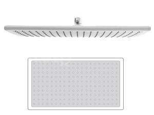 Rectan White sprcha hlavová 40 x 23 cm plast/bílá