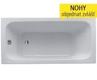 Renova Nr.1 vana akrylátová s bočním odtokem 160 x 80 cm, bílá, 657360000, Keramag