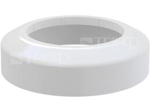 Rozeta pro dopojení WC - nízká Alcaplast A98 110/45mm