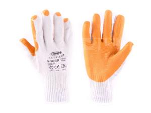 Rukavice Slipper bílo - oranžové