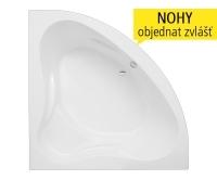 Sabrina Neo vana akrylátová 140 x 140 cm, bílá, 9620000, Roltechnik
