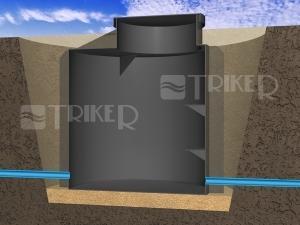 Šachta vodoměrná 1000 x 1200 x 300 mm (PP5)