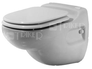 SANICOMPACT Star závěsné WC s čerpadlem s přípojkou na umyvadlo