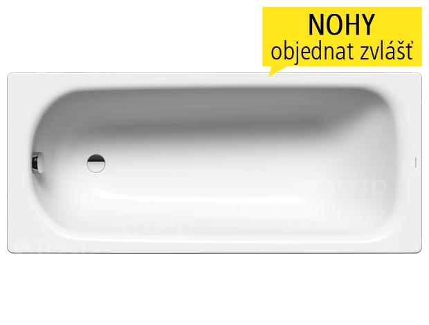 Obdélníková vana Olsen Spa Termi se svými ostrými tvary výborně hodí do moderní koupelny.