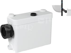 SANIPACK sanitární kalové čerpadlo pro závěsné WC, pisoár, umyvadlo, sprchu