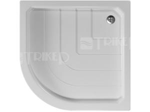 Sano vanička akrylátová 80 x 80 x 7 cm R550 protiskluz, bílá