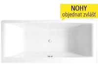 Savona vana akrylátová 170 x 80 cm, bílá, 8970000, Roltechnik