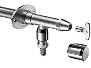 Schell Polar II ventil nezámrzný s přivzdušňovačem potrubí 1/2