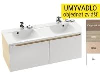 SD 1300 Classic skříňka pod umyvadlo S-Onyx/bílá, X000000424, Ravak